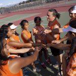 San Mateo High School Girls Varsity Tennis falls to Burlingame High School 3-4
