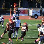 San Mateo High School Junior Varsity Football wins vs Carlmont High School 15-6