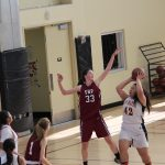 San Mateo High School Girls Junior Varsity Basketball falls to Sacred Heart Prep 23-33
