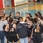 San Mateo High School Girls Junior Varsity Basketball falls to Hillsdale High School 13-34