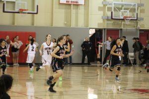 Girl's Varsity Basketball vs. Aragon