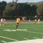 San Mateo High School Boys Varsity Soccer beat El Camino 2-0