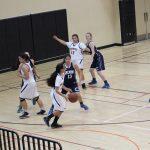 San Mateo High School Girls Junior Varsity Basketball falls to Carlmont High School 12-30