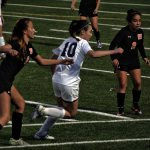 San Mateo High School Girls Varsity Soccer falls to South San Francisco High School 1-2