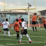 San Mateo High School Boys Junior Varsity Soccer beat Westmoor High School 2-1