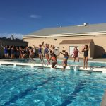 San Mateo High School Girls Varsity Water Polo falls to Hillsdale High School 13-7