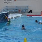 San Mateo High School Girls Varsity Water Polo beat Capuchino High School 16-5