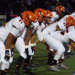San Mateo High School Varsity Football beat Carlmont High School 38-23