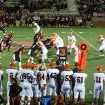 San Mateo High School Varsity Football falls to Westmont High School 38-14