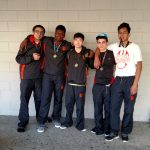 San Mateo High School Coed Varsity Wrestling scores 0 points at meet