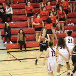 San Mateo High School Girls Varsity Basketball beat Aragon High School 60-50