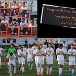 San Mateo High School Boys Varsity Soccer beat Mills High School 5-1