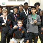 San Mateo High School Coed Varsity Wrestling ties Menlo-Atherton High School 0-0