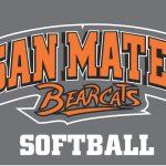 San Mateo High School Varsity Softball beat M-A 17-2