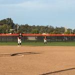San Mateo High School Varsity Softball beat Mills High School 16-1