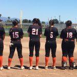 San Mateo High School Varsity Softball falls to Homestead High School 2-0