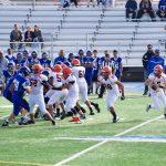 San Mateo High School Junior Varsity Football beat South San Francisco High School 33-10