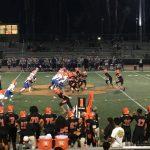 San Mateo High School Varsity Football beat Santa Teresa High School 21-7
