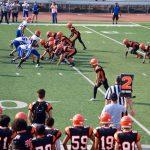 San Mateo High School Junior Varsity Football falls to Santa Teresa High School 28-20