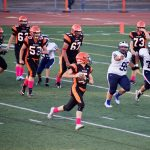 San Mateo High School Junior Varsity Football beat Carlmont High School 27-0