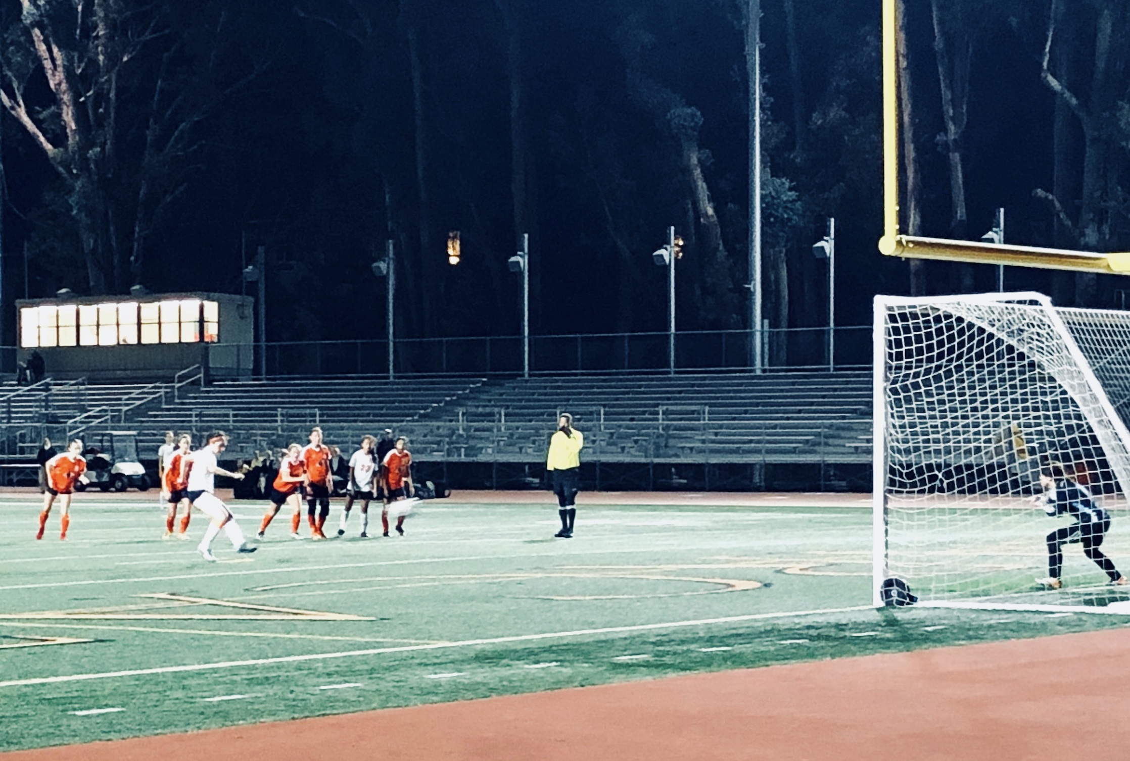 Girls Varsity Soccer wins 3-0, injury overshadows outcome