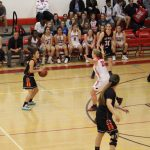 Girls Varsity Basketball falls to Burlingame 48 – 24