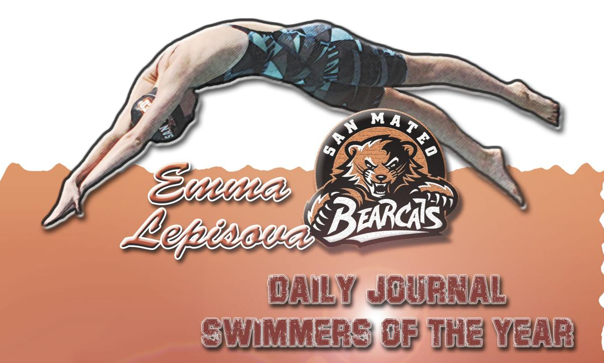 Daily Journal Girls' Swimmer of the Year: San Mateo's Emma Lepisova