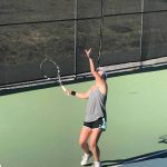 Girls Varsity Tennis def. Half Moon Bay 7 – 0