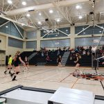 Girls Junior Varsity Volleyball beats Woodside 2 – 0