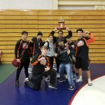 Varsity Wrestling finishes 6th place at Kermit Bankson Invitational
