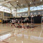 Girls Junior Varsity Volleyball beats Mills 2 – 0