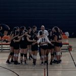 Girls Freshman Volleyball beats Hillsdale 2 – 1