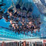 Girls Varsity Swimming beats Aragon 107 – 63