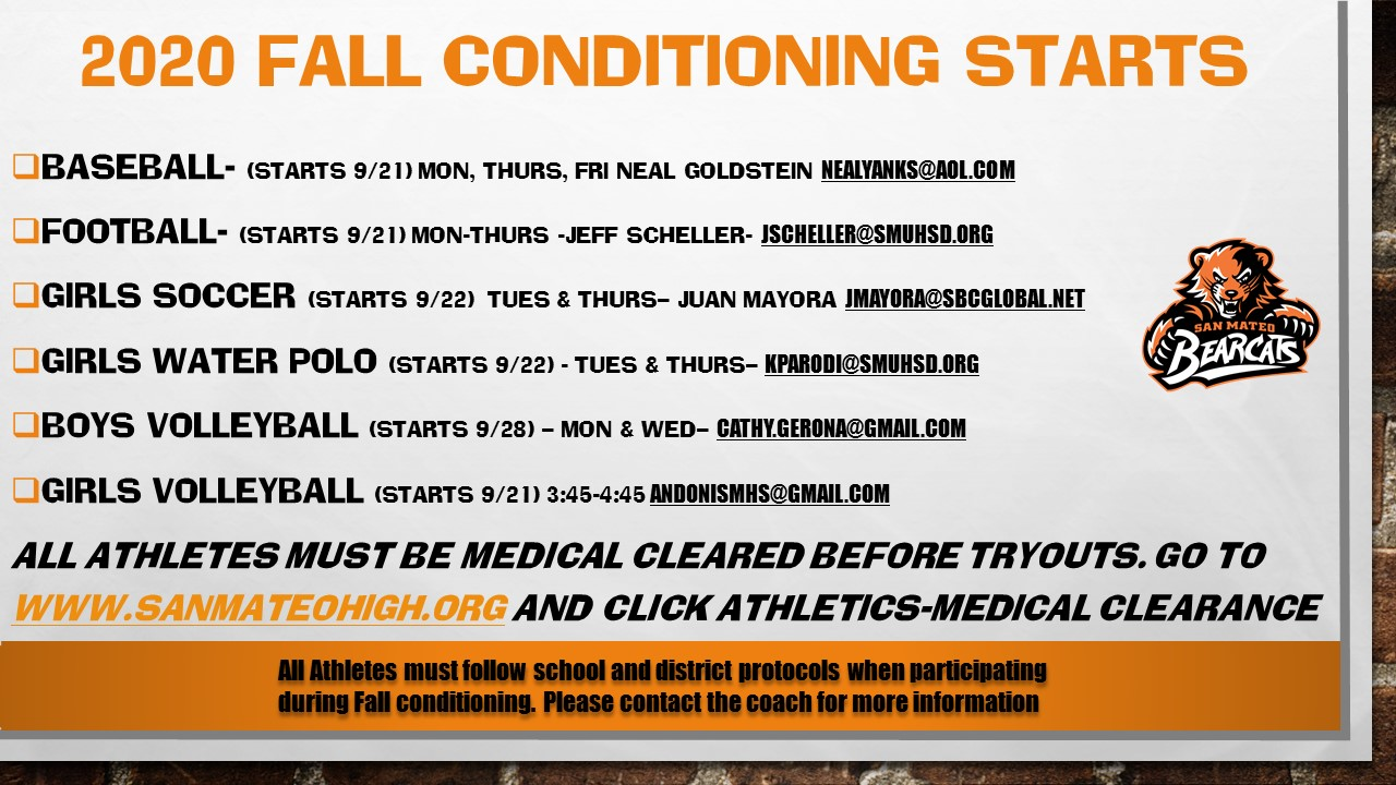 Fall Conditioning