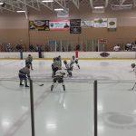 Farmington High School Boys Varsity Hockey beat Notre Dame Preparatory 4-3