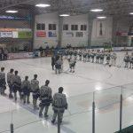 Farmington High School Boys Varsity Hockey beat Traverse City West High School 4-0