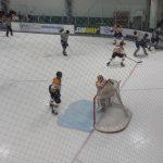 Farmington High School Boys Varsity Hockey falls to Traverse City Central High School 3-4