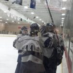 Farmington High School Boys Varsity Hockey falls to Troy High School 5-4