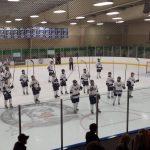 Farmington High School Boys Varsity Hockey falls to Rochester High School 3-2