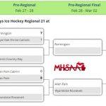 Farmington High School Boys Varsity Hockey beat Shrine Catholic High School 7-1