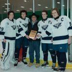 Boys Varsity Hockey beats * North Farmington High School (@ FHIA) 4 – 1