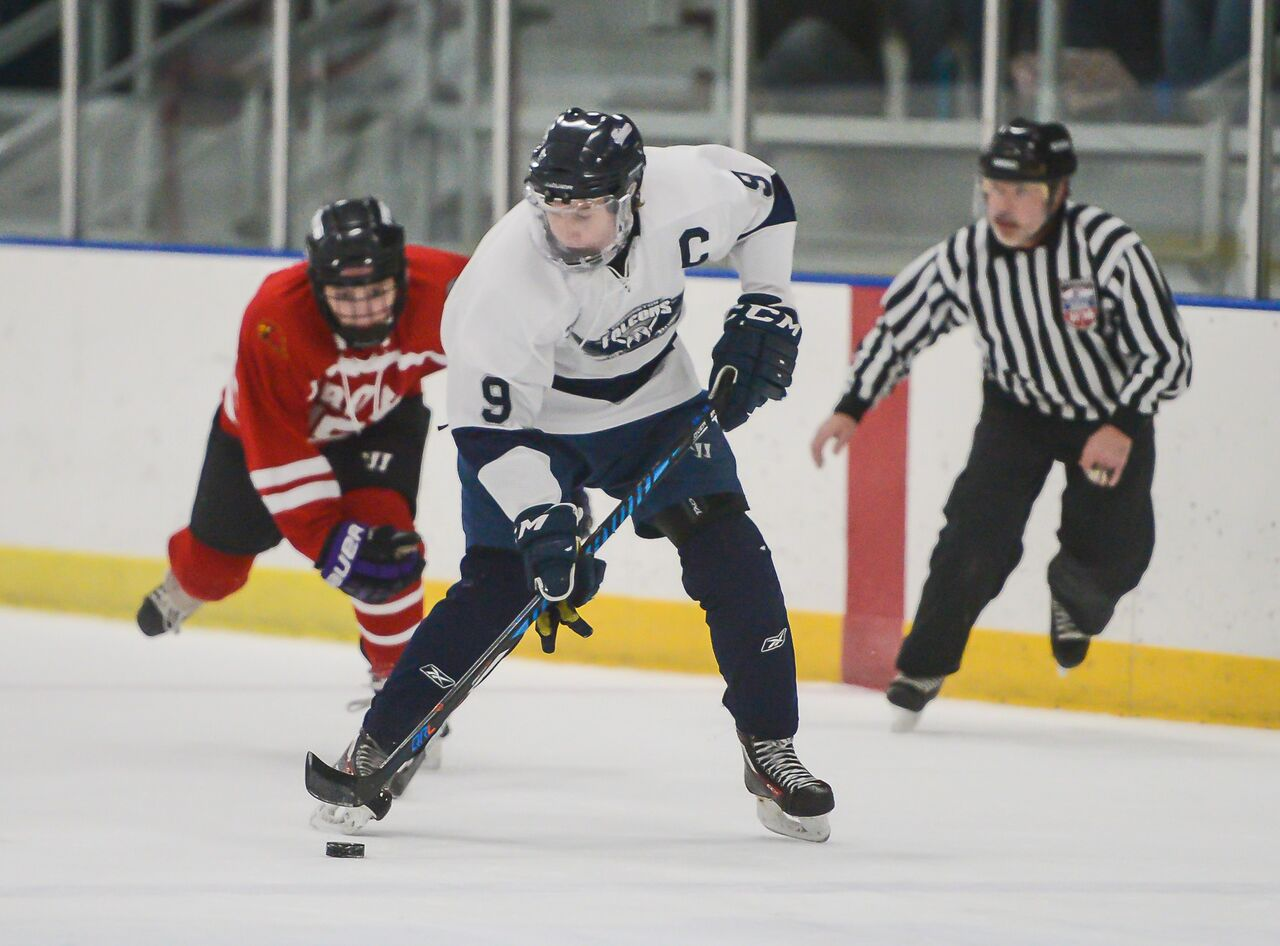 Falcons Hockey: Tanner Neill named to D3 All-State Team