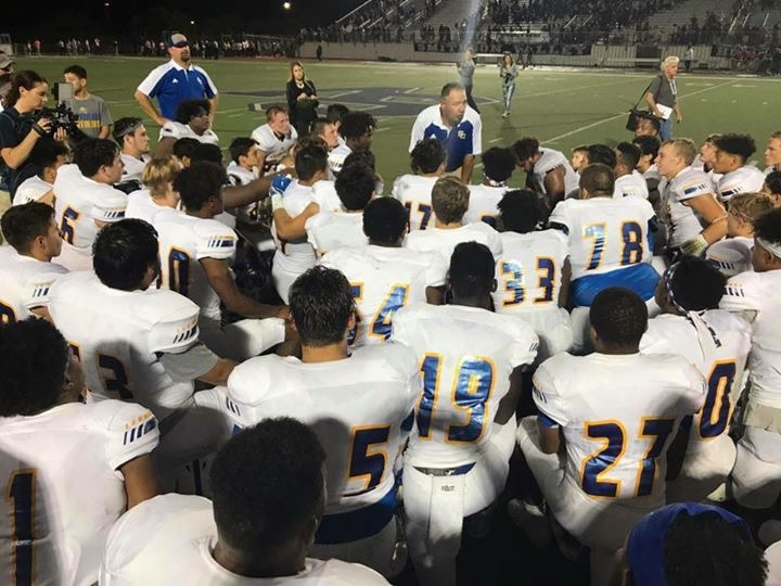 Video: Head Coach Johnston celebrates Buffs win over SV!
