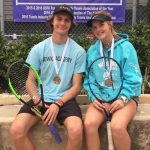 Tennis is on a roll!  Congrats James and Jordyn!