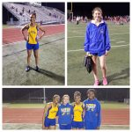 Great night for JV Girls Track!