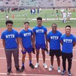 Congrats, Varsity Boys 400m Relay!