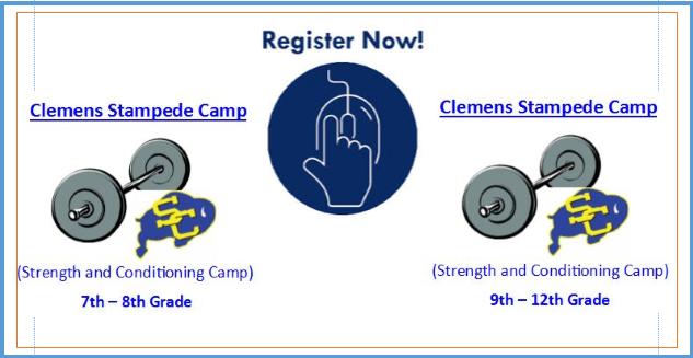Clemens Stampede Camp Starts Monday!