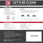 Comal ISD Clear Bag Policy Information