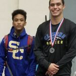 Wrestlers,  DeShawn Cosby and Jackson Macias head to State tomorrow!