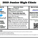 Clemens Aquatics – Corbett Jr. High Swim Clinic Information.